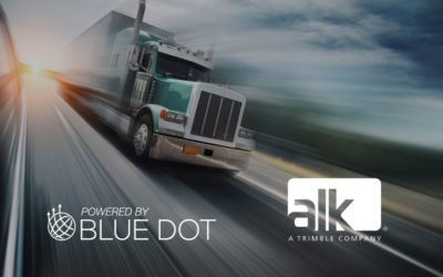 Blue Dot and ALK Technologies Partner to Deliver Ground Breaking Driver Workflow Innovation